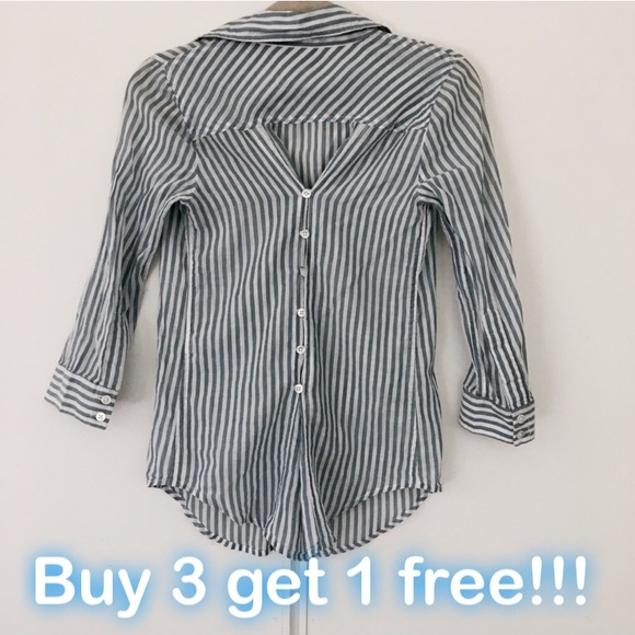 Elizabeth and James Tops - Elizabeth and James Button-Up